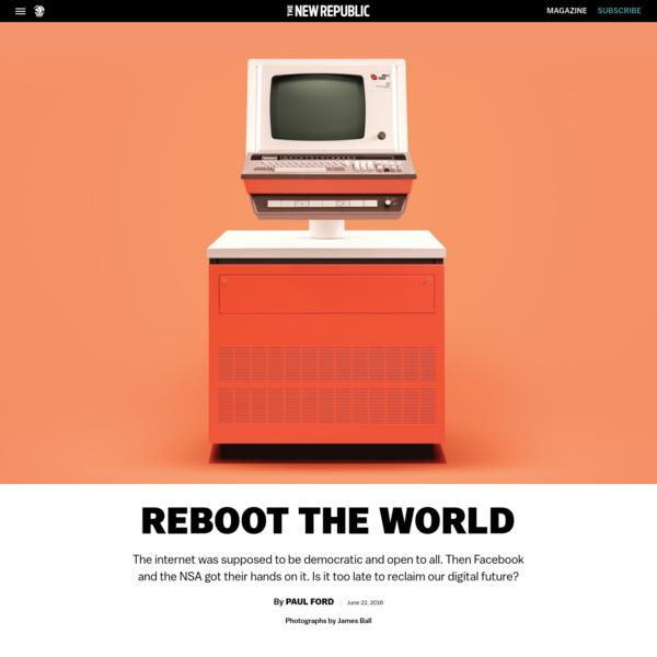 Democratize the Internet Now!