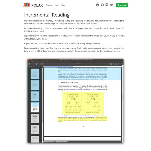 Incremental Reading