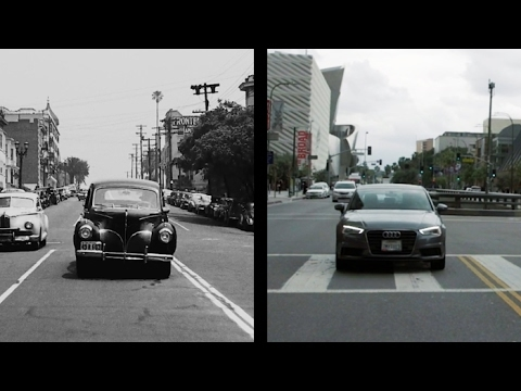 Seventy Years of Los Angeles, Then and Now | The New Yorker