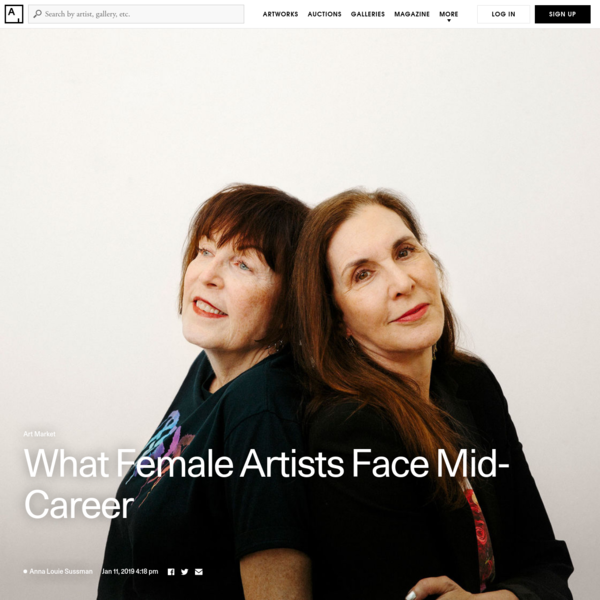 Any artist's mid-career period can be fraught, but it is especially challenging for female artists, who face deeply ingrained stereotypes and biases.