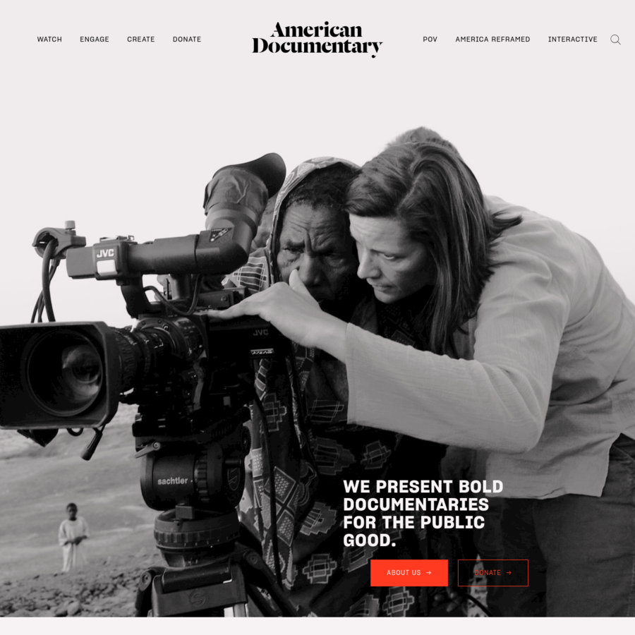 A national nonprofit media arts organization, American Documentary (AmDoc) strives to make essential documentaries accessible as a catalyst for public discourse.