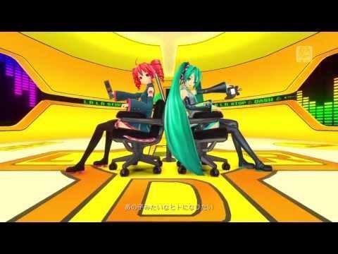 Kasane Teto & Hatsune Miku - Remote Control (ver.Matsuri) - Project Diva F