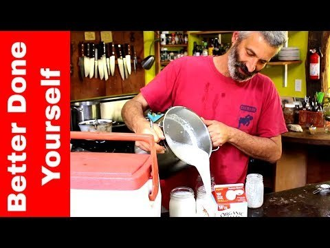 Sandor Katz Makes Yogurt ~ Fermentation Workshop Episode.01