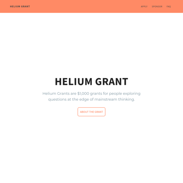 Helium Grant