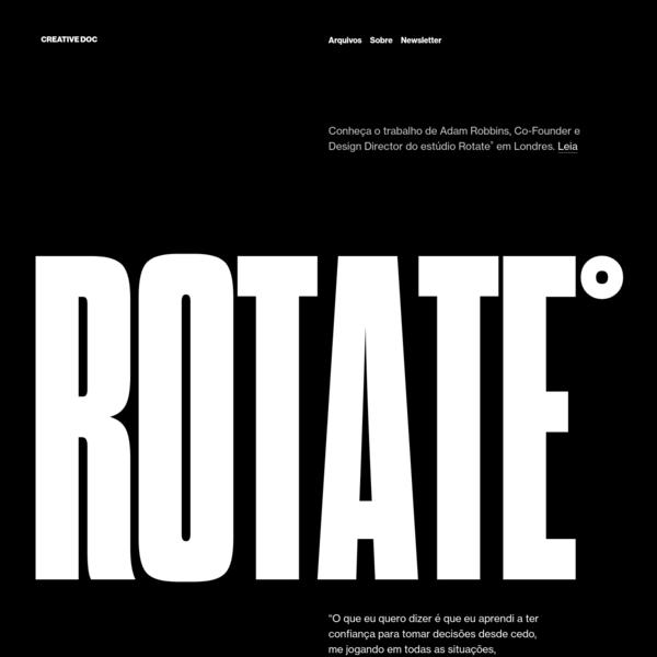 Creative Doc - Design, inspiração & entrevistas.