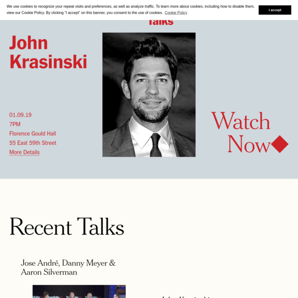 "Home - TimesTalks "" The New York Times"