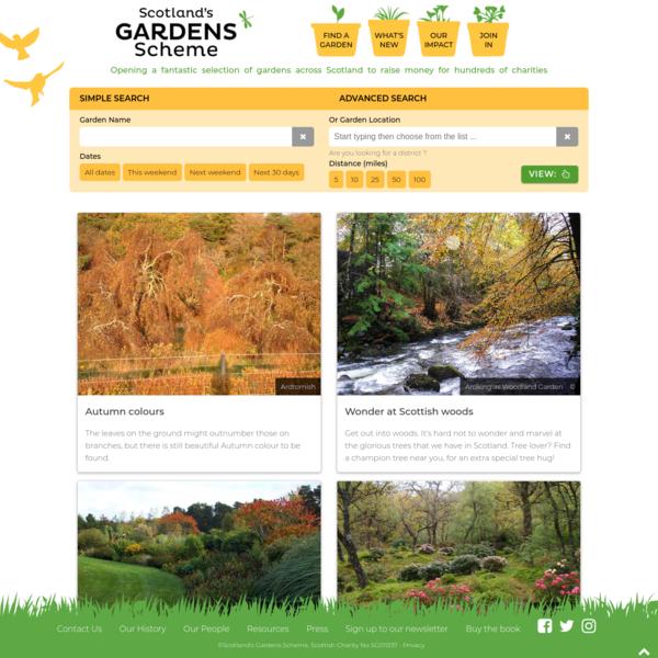 Scotlands Gardens Scheme - Home
