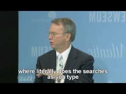 "https://startpage.com/do/mypage.pl?prf=290ab27ea39d99efeca93a93c067e9db The old Google CEO Eric Schmidt talking about privacy and the legendary 'creepy line'. ""We know where you are - we know where you've been - we can more or less guess what you're thinking about."""