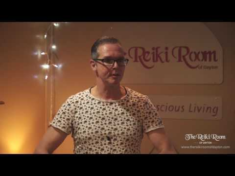 Frans Stiene, co-author of The Reiki Sourcebook and co-founder of The International House of Reiki, speaks at The Reiki Room of Dayton on April 19, 2017.