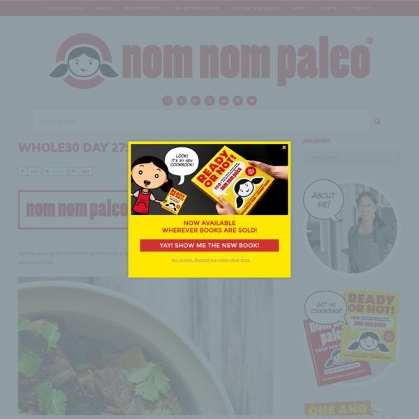 Whole30 Day 27: Korean Short Ribs - Nom Nom Paleo®