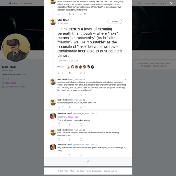 Max Read on Twitter