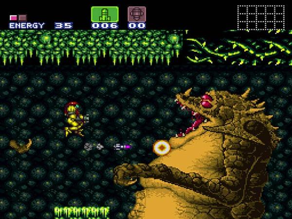 Super Metroid gameplay