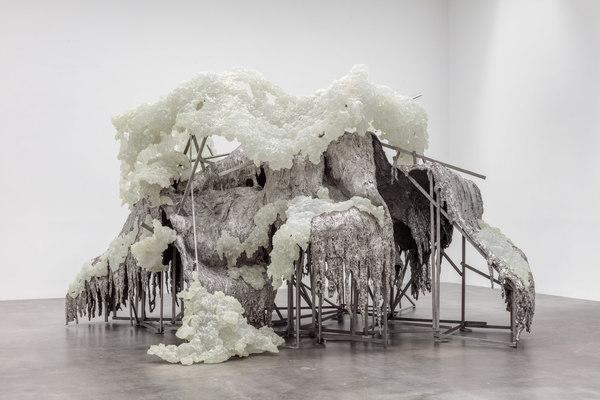 Lynda Benglis, HILLS AND CLOUDS, 2014