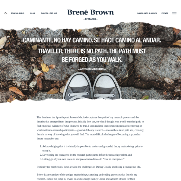 Research | Brené Brown