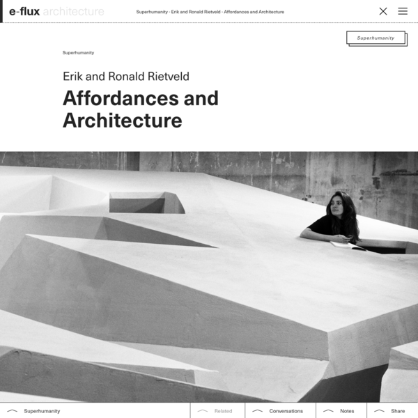 Affordances and Architecture