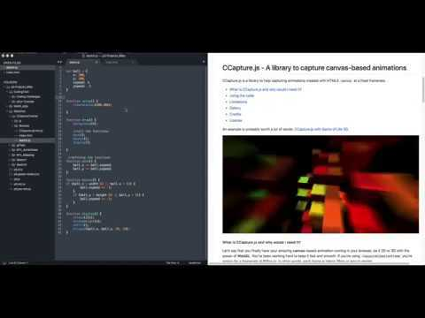 How to save your p5.js sketch as a GIF file using CCapture.js