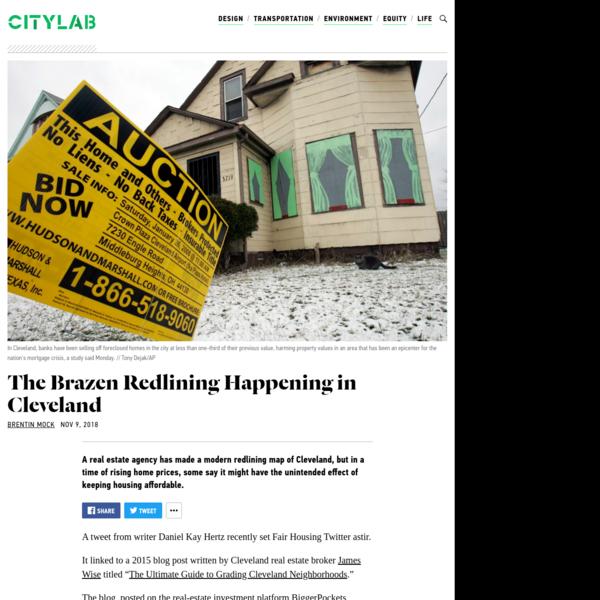 Redlining Cleveland