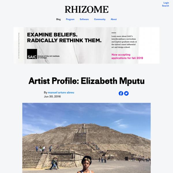 Artist Profile: Elizabeth Mputu