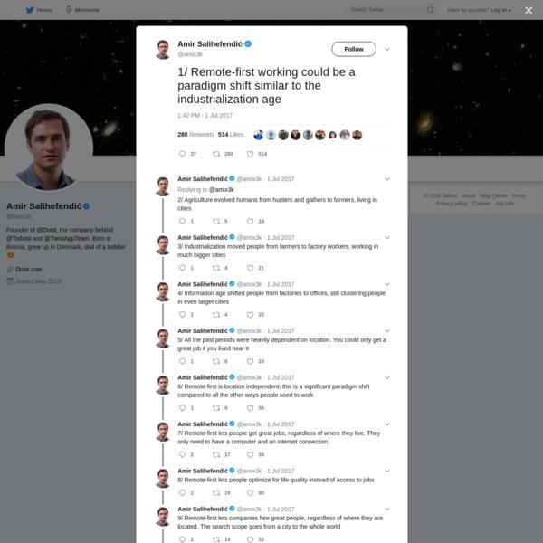 Amir Salihefendić on Twitter