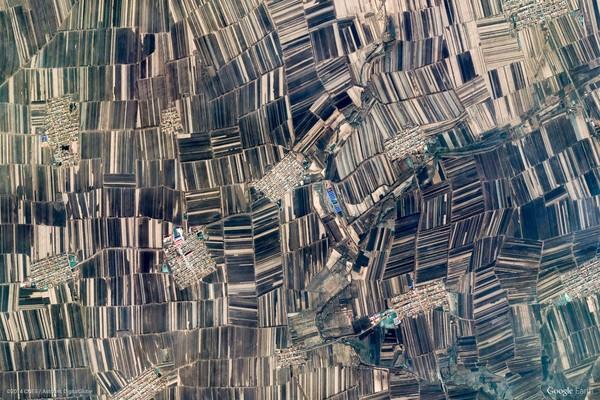 Haerbin, China (Google Earth View 1864)