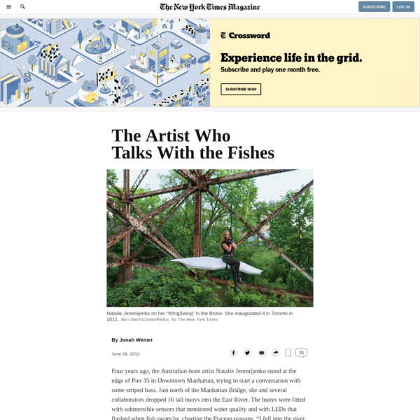 The Artist Who Talks With the Fishes