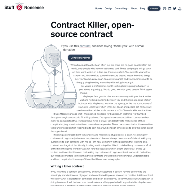 Contract Killer open-source contract