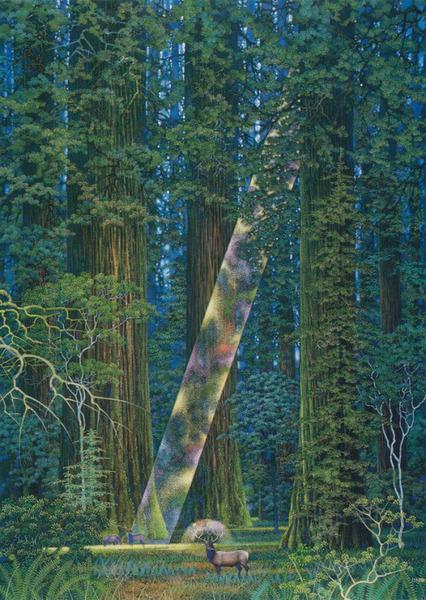 Hirō Isono aka Hiroo Isono aka 磯野宏夫 (Japanese, 1945-2013, b. Aichi Prefecture, Japan) - Untitled  Paintings