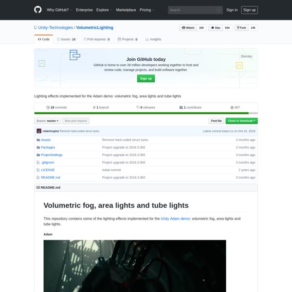 Unity-Technologies/VolumetricLighting