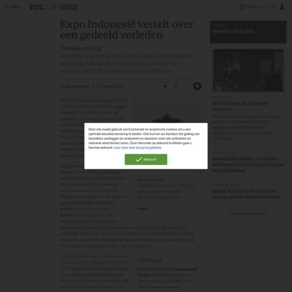 Expo Indonesië vertelt over een gedeeld verleden