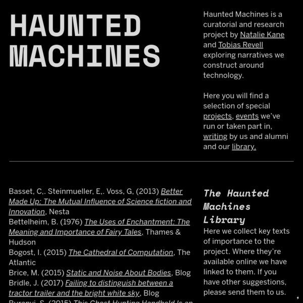Library - Haunted Machines