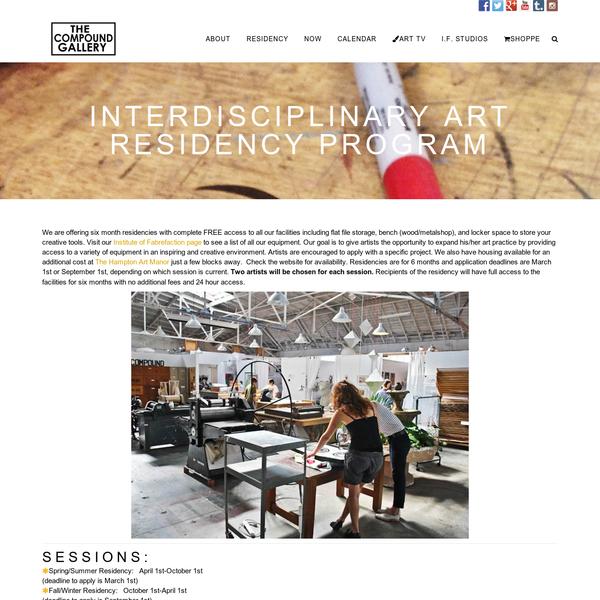 Interdisciplinary Art Residency Program