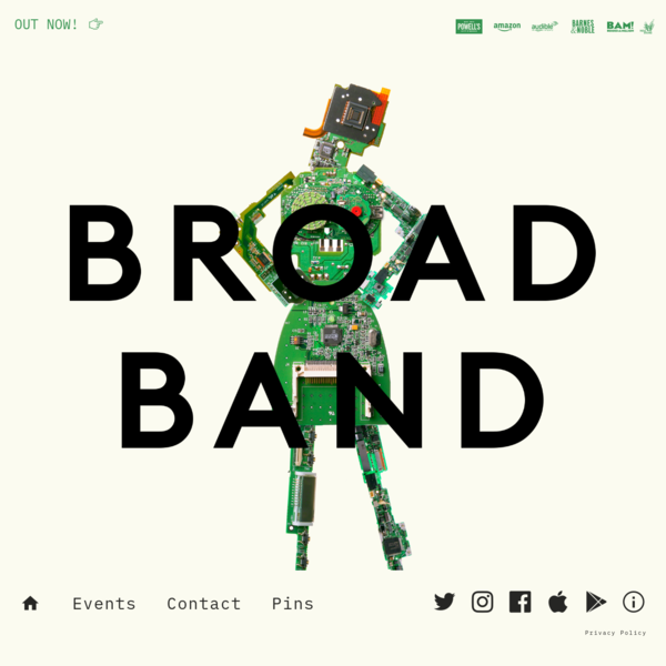 Claire L. Evans - Broad Band