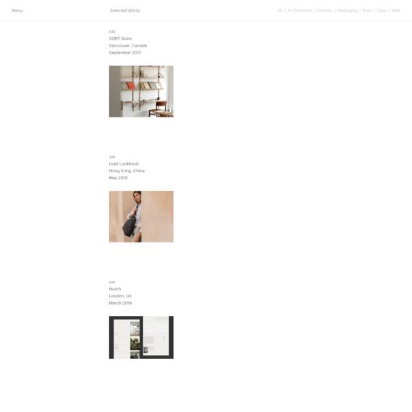 Studio Faculty - A graphic design studio based in Vancouver, Canada. The studio provides services in branding, print design, web design and development, design consultation and art direction