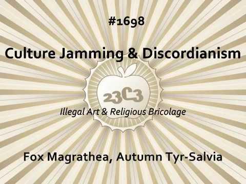 Culture Jamming & Discordianism Explained - Autumn Tyr-Salvia, Fox Magrathea