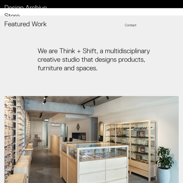 Think + Shift   Furniture and Spatial Design