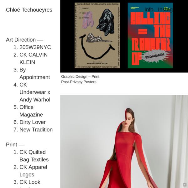 Chloé Techoueyres - Art Direction