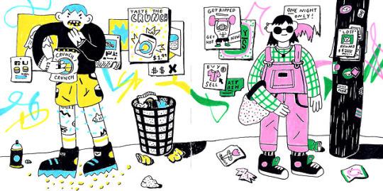 trash city - Jennifer Xiao