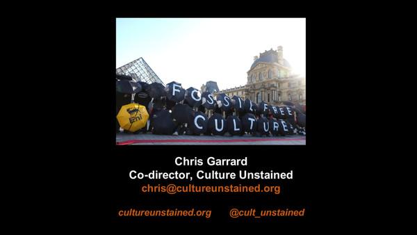 Make It Work Presentation – Chris Garrard, Culture Unstained
