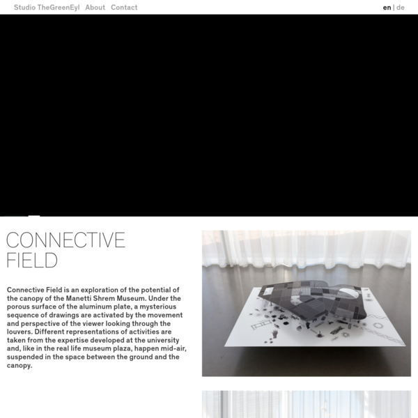 Connective Field | Studio TheGreenEyl