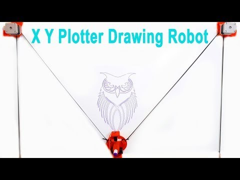 How To Make Arduino XY Plotter Drawing Robot | Mert Arduino