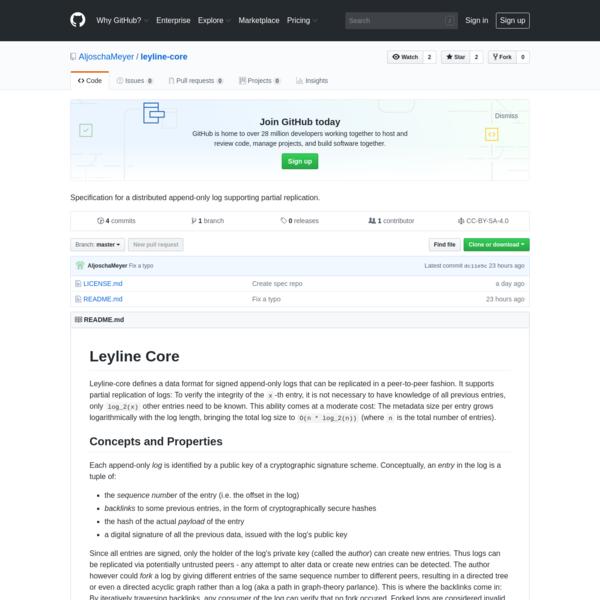 AljoschaMeyer/leyline-core