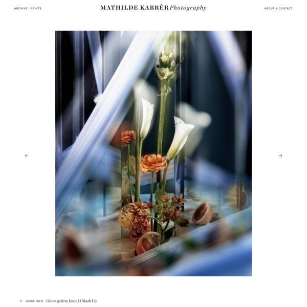 Green gallery Issue 11 Mash Up - Mathilde Karrer