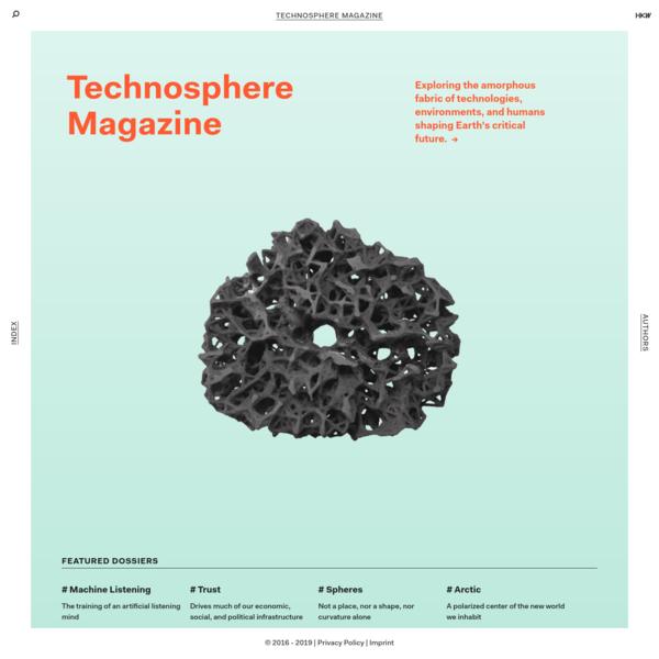 Technosphere Magazine