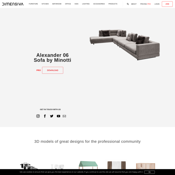 Dimensiva - 3D models of great designs for the professional community