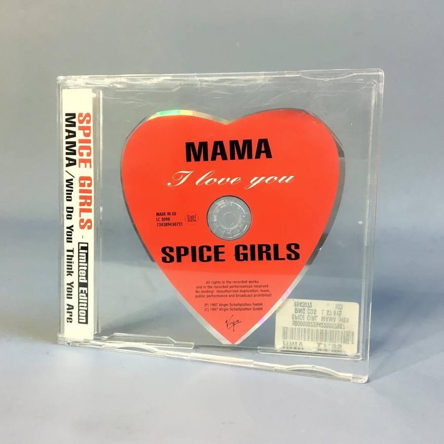 spice girl dvd emoji disc