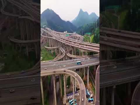 Qianchun Interchange - One of China's most complex interchanges