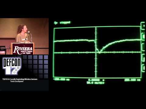 DEF CON 17 - Travis Goodspeed - Locally Exploiting Wireless Sensors