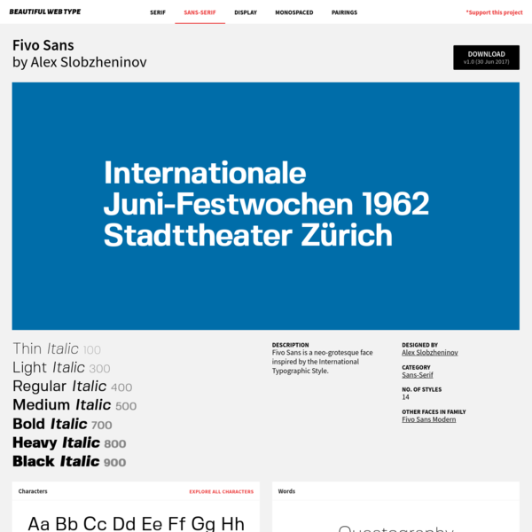 Complete Guide to Fivo Sans