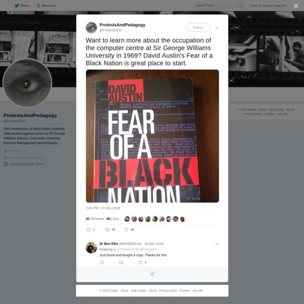 ProtestsAndPedagogy on Twitter
