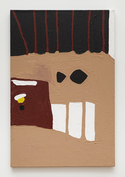 Marlon Mullen, untitled (James Lee Byars), 2014